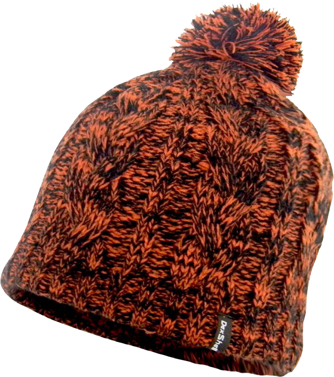 Dexshell DH342 (DH342TR) - водонепроницаемая шапка с помпоном (Orange)