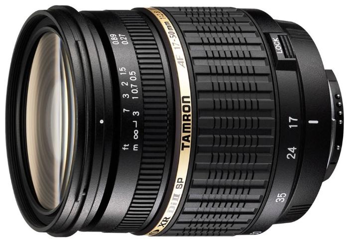 Tamron SP AF 17-50mm f/2.8 XR Di II LD Aspherical IF - объектив для фотоаппаратов Nikon II (Black)