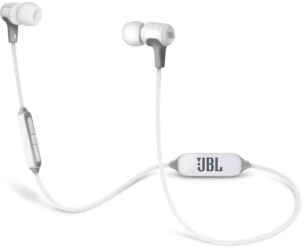JBL E25 - внутриканальная Bluetooth-гарнитура (White)