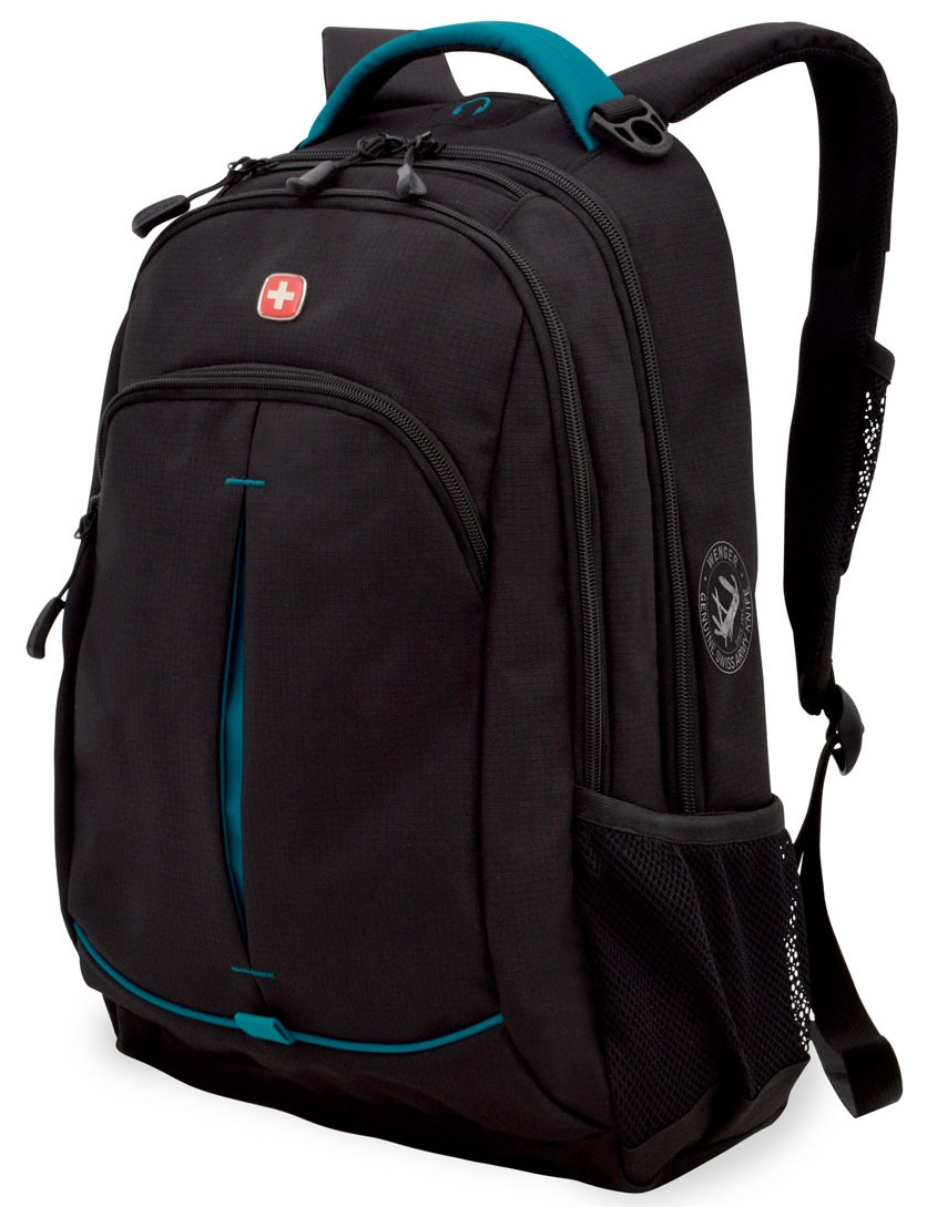 Wenger 3165206408 - рюкзак (Black/Turquoise)