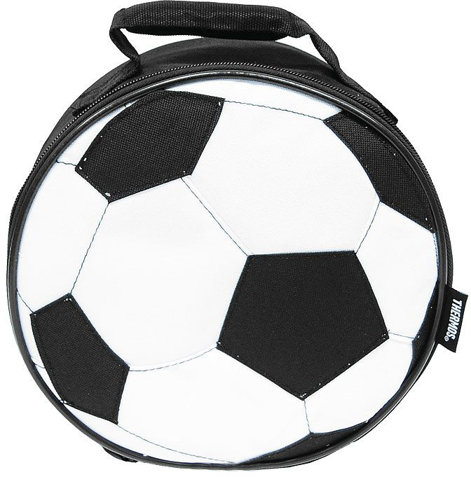 Thermos Soccer (887344) - детская термосумка (Black/White) от iCover