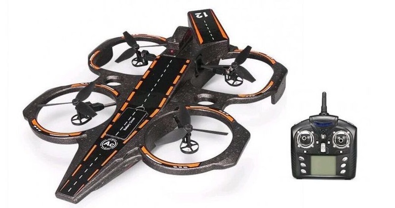 Квадрокоптер WLtoys Q202 Aircraft Carrier Quadcopter (Black)