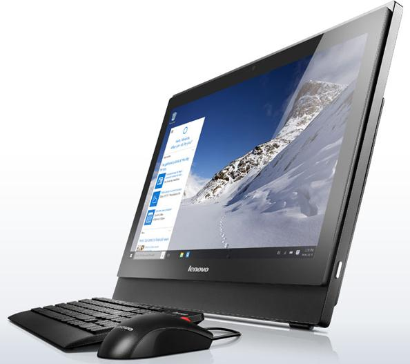 "Моноблок Lenovo S400z 21.5"" Intel Core i3-6100U 2.3GHz, 4Gb, 500Gb (10HB003ERU) Black"