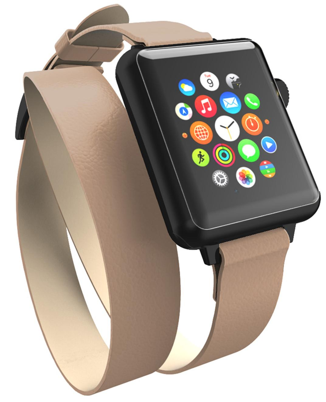 Ремешок Incipio Reese Double Wrap для Apple Watch 42mm (Taupe)
