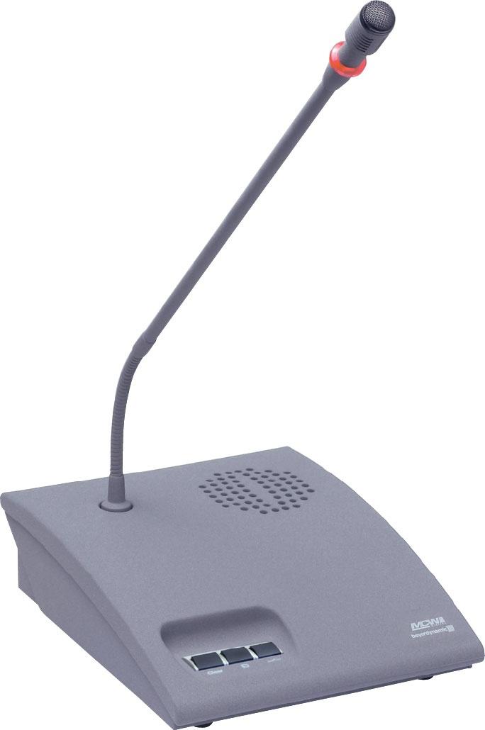 Beyerdynamic MCW-D 523 (72022707) - микрофонный пульт председателя (Grey)