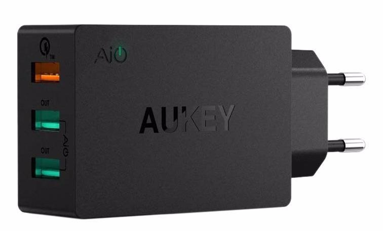 Aukey PA-T14 - сетевое зарядное устройство (Black)
