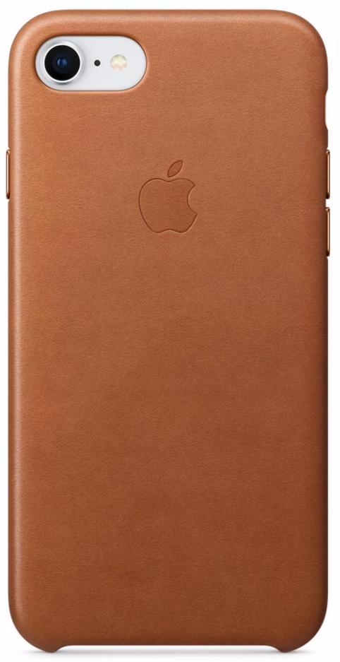 Чехол-накладка Apple Leather Case (MQH72ZM/A) для iPhone 7/8 (Saddle Brown)