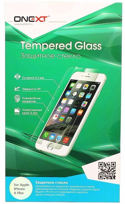 Защитное стекло Onext Tempered Glass (41376) для телефона Apple iPhone 7/8 (Clear)
