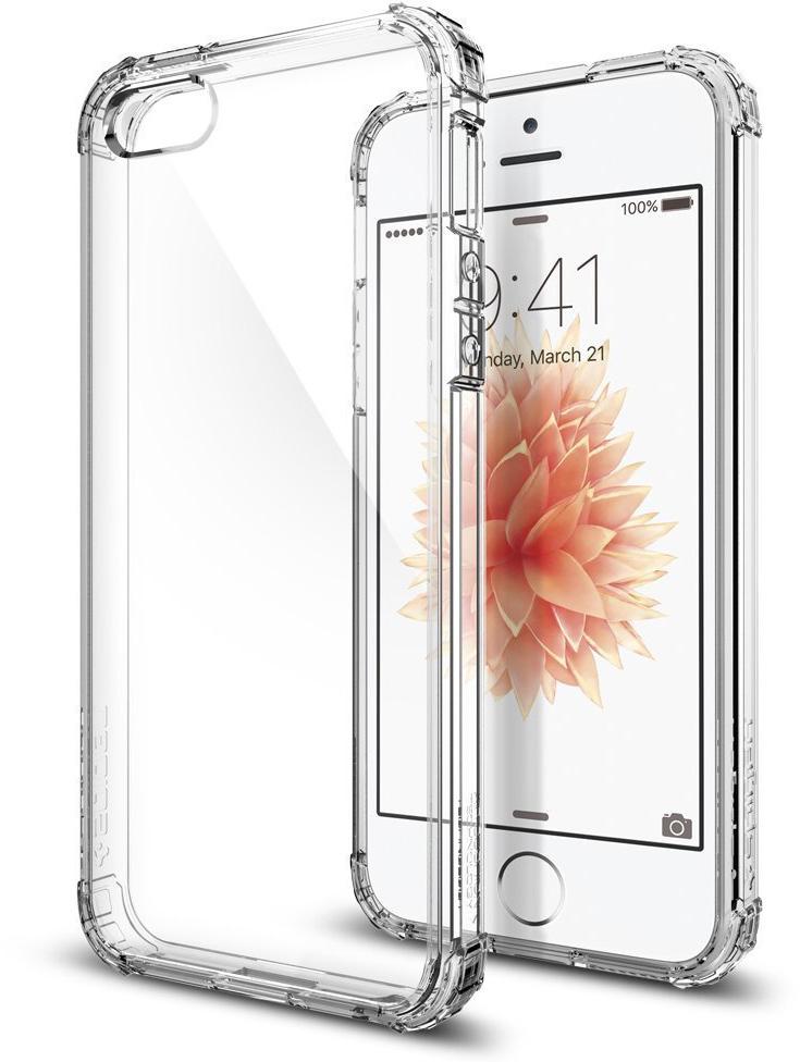 Spigen Crystal Shell (041CS20177) - чехол для iPhone 5/5S/SE (Crystal Clear)