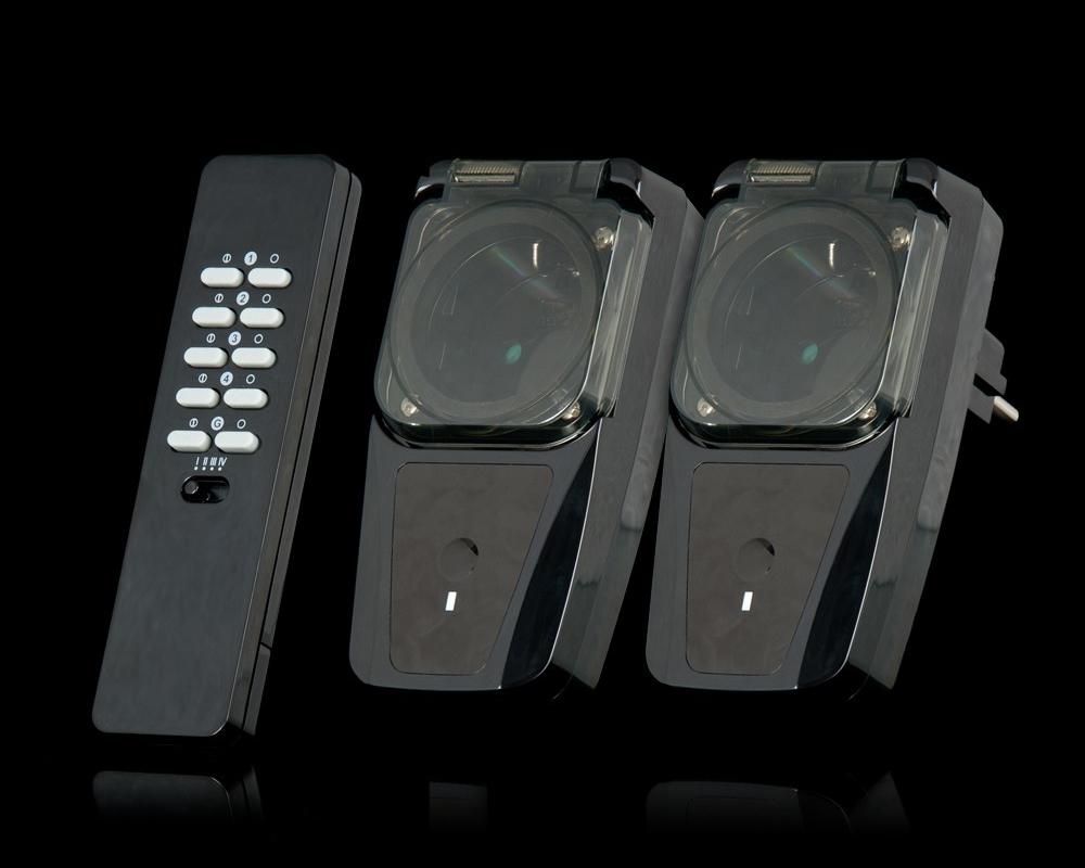 COCO AGDR2-3500R - пульт дистанционного управления и два влагозащитных ресивера
