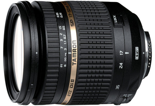 Tamron SP AF 17-50mm f/2.8 XR Di II VC LD Aspherical IF - объектив для фотоаппаратов Nikon (Black)