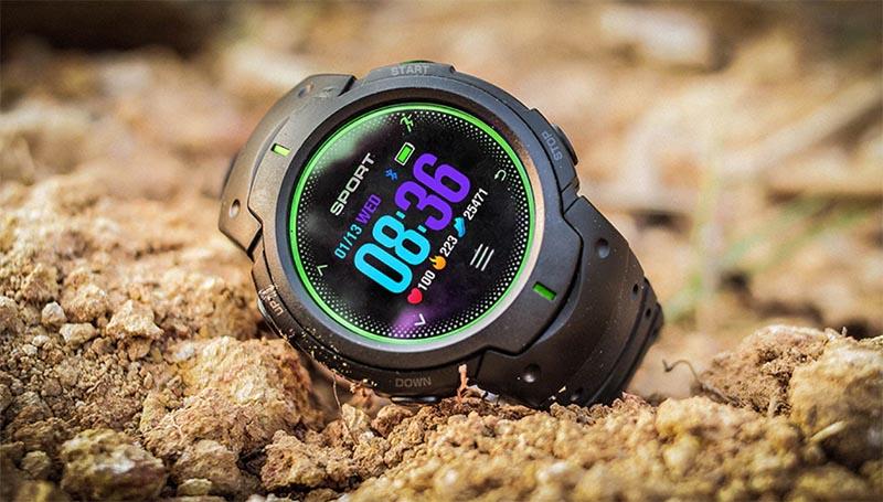 Умные часы NO.1 F13 (Black/Green)
