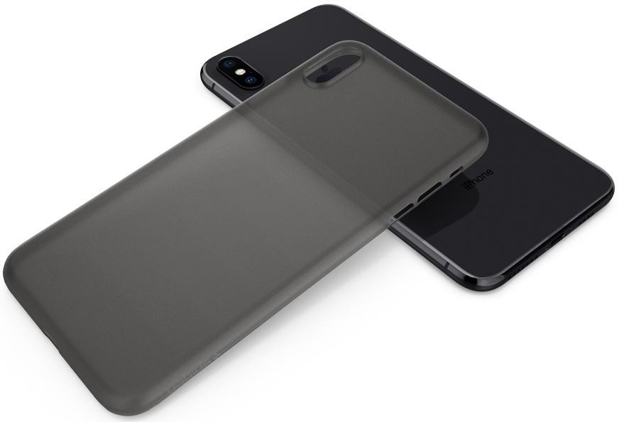 Чехол Spigen Air Skin (065CS24830) для Apple iPhone XS Max (Black)