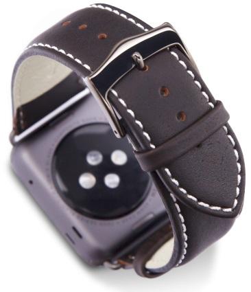 Купить Dbramante1928 Copenhagen Watch Strap (AW42HDSG0640) - ремешок для Apple Watch 42mm (Space Grey/Hunter)