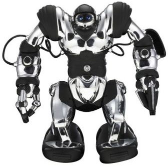 WowWee Robosapien - радиоуправляемый робот (Silver/Black)