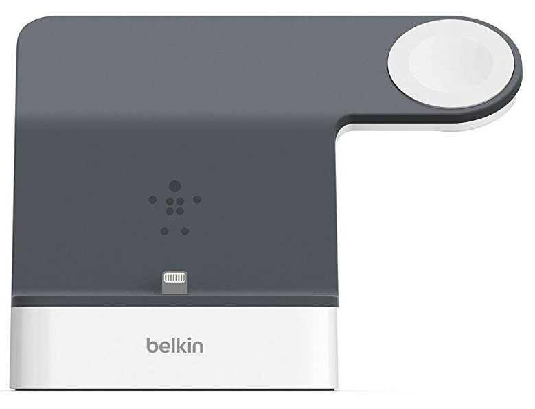Belkin PowerHouse Charge Dock - док-станция для Apple Watch + iPhone (White)