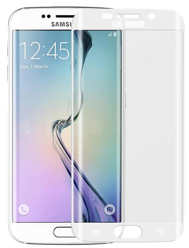 Glass Film - защитное стекло для Samsung Galaxy S6 Edge (White)