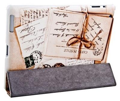 Jison Smart Leather Case - чехол для iPad 2/iPad 3/iPad 4 (Letters)
