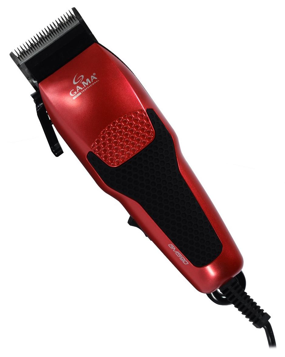 GA.MA GM 590 - машинка для стрижки волос (Red/Black)