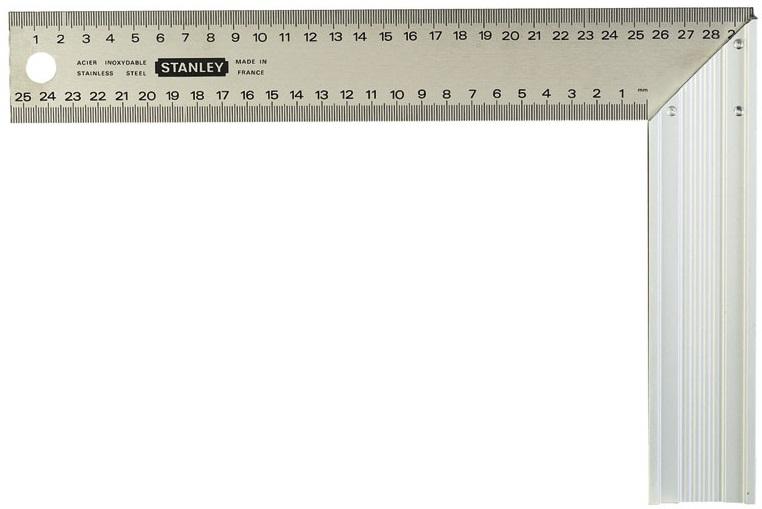 Stanley 140х250 мм (1-45-685) - угольник столярный