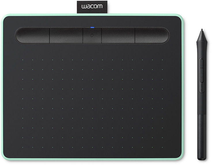 wacom Графический планшет Wacom Intuos M Bluetooth CTL-6100WLE-N (Pistachio)
