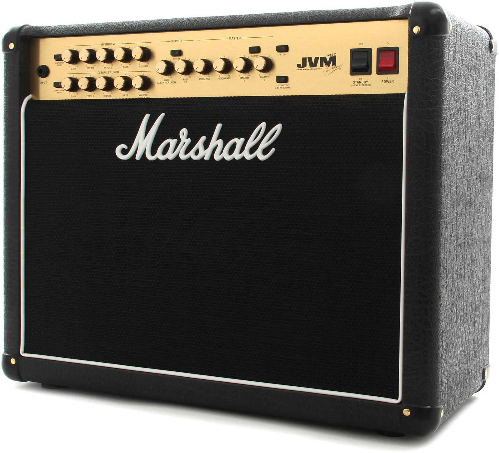 Marshall JVM 215C - гитарный комбоусилитель (Black)