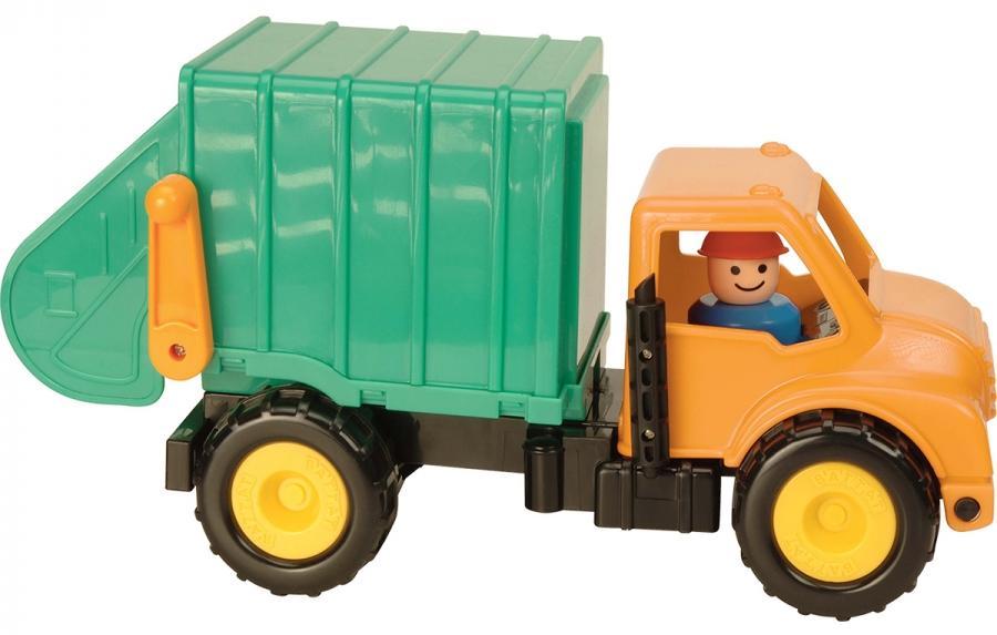 Battat 68021 - грузовик-мусоровоз (Green) от iCover