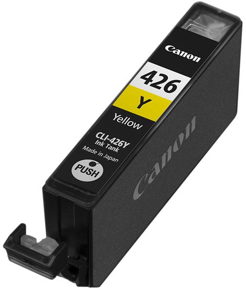 Canon CLI-426Y (4559B001) - картридж для принтеров Canon PIXMA MG5140/5240/6140/8140 (Yellow)
