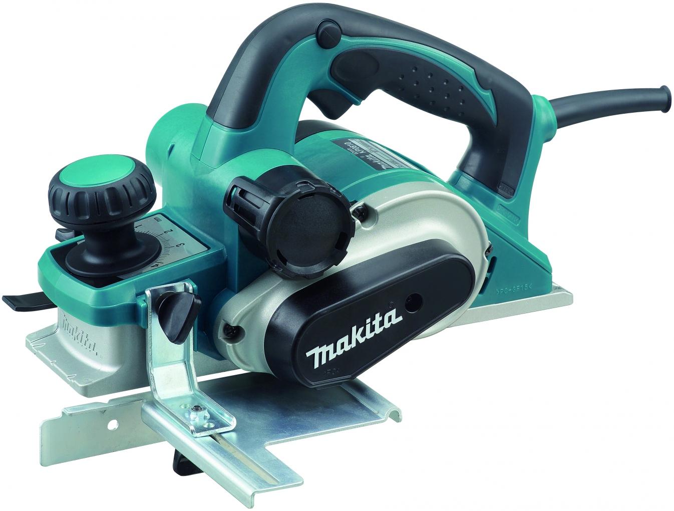 Makita KP0810C - рубанок электрический (Blue)  рубанок makita 1002 ba