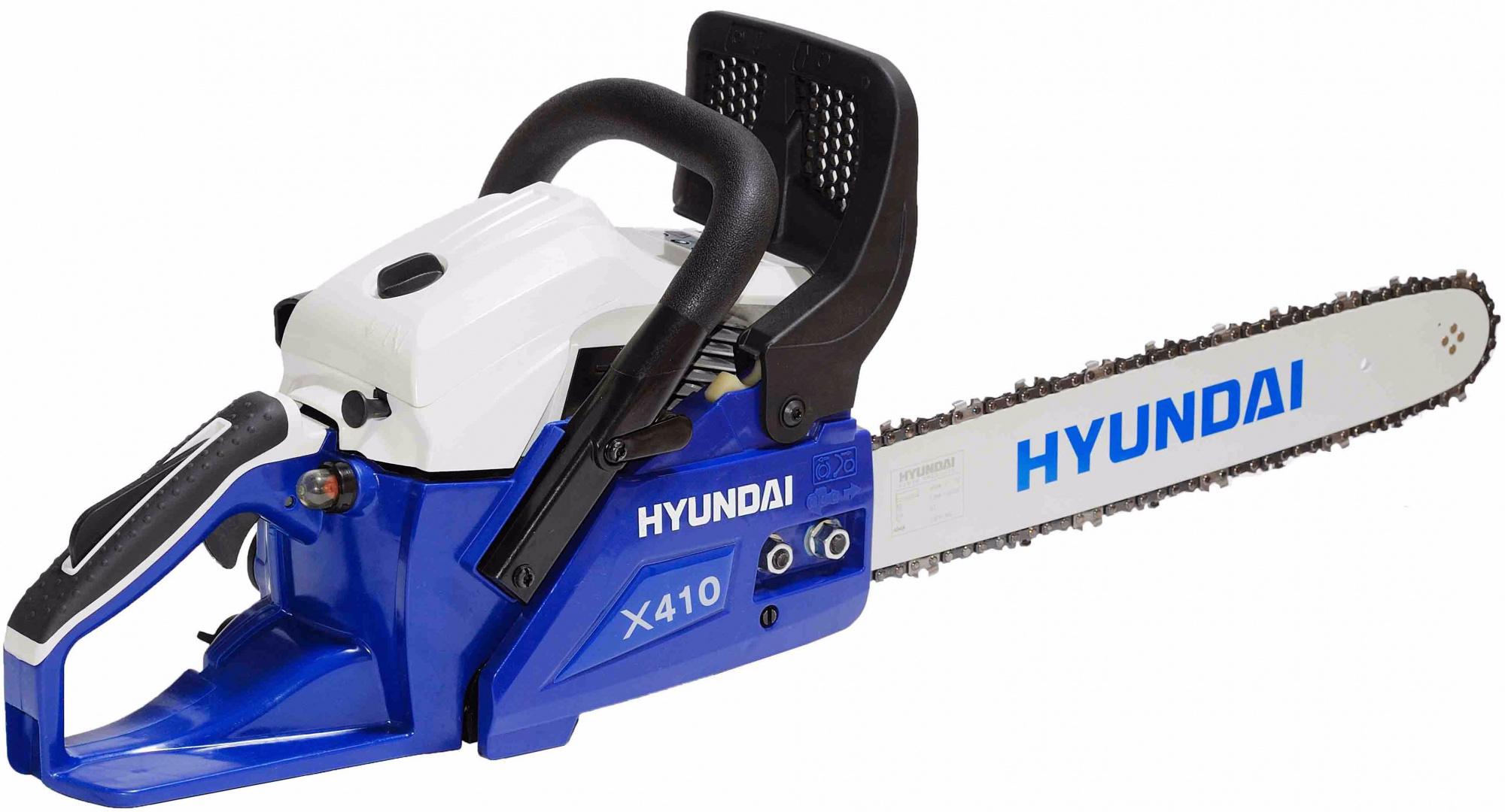 Hyundai X 410 - бензопила (Blue) от iCover