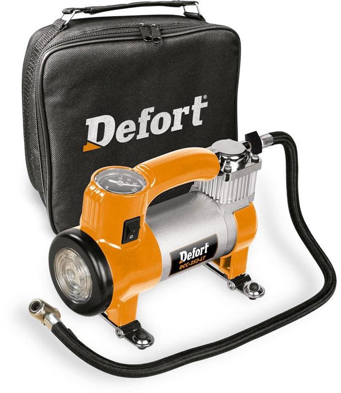 Defort DCC-252-Lt (93728335) - автомобильный компрессор (Orange)