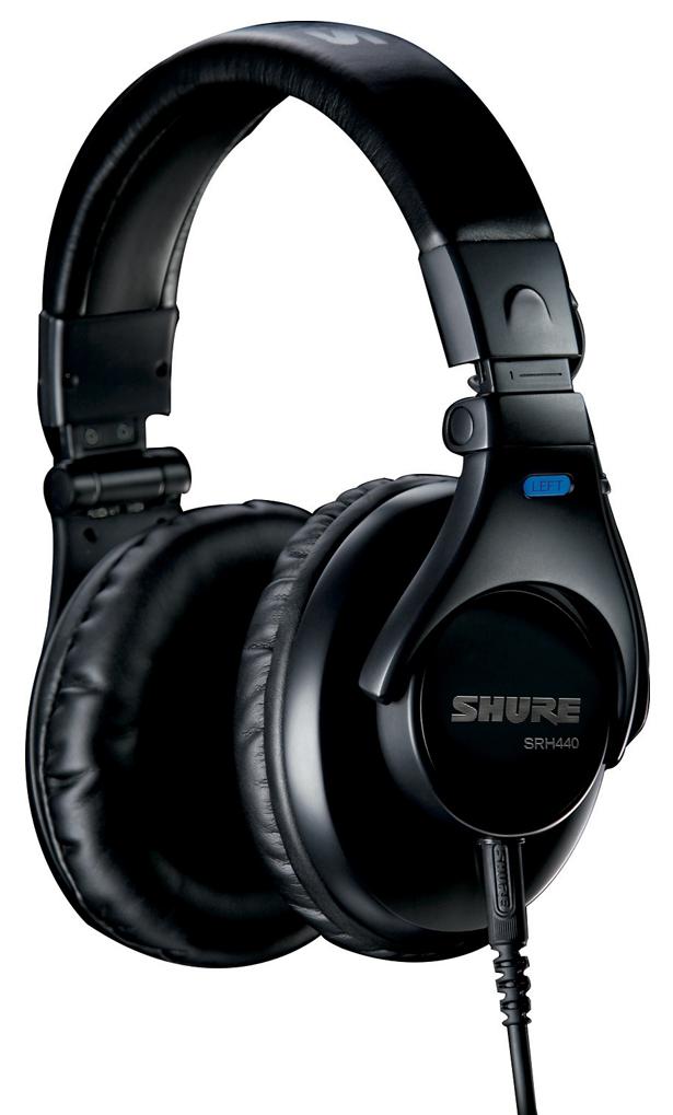 Shure SRH440 - профессиональные наушники (Black)