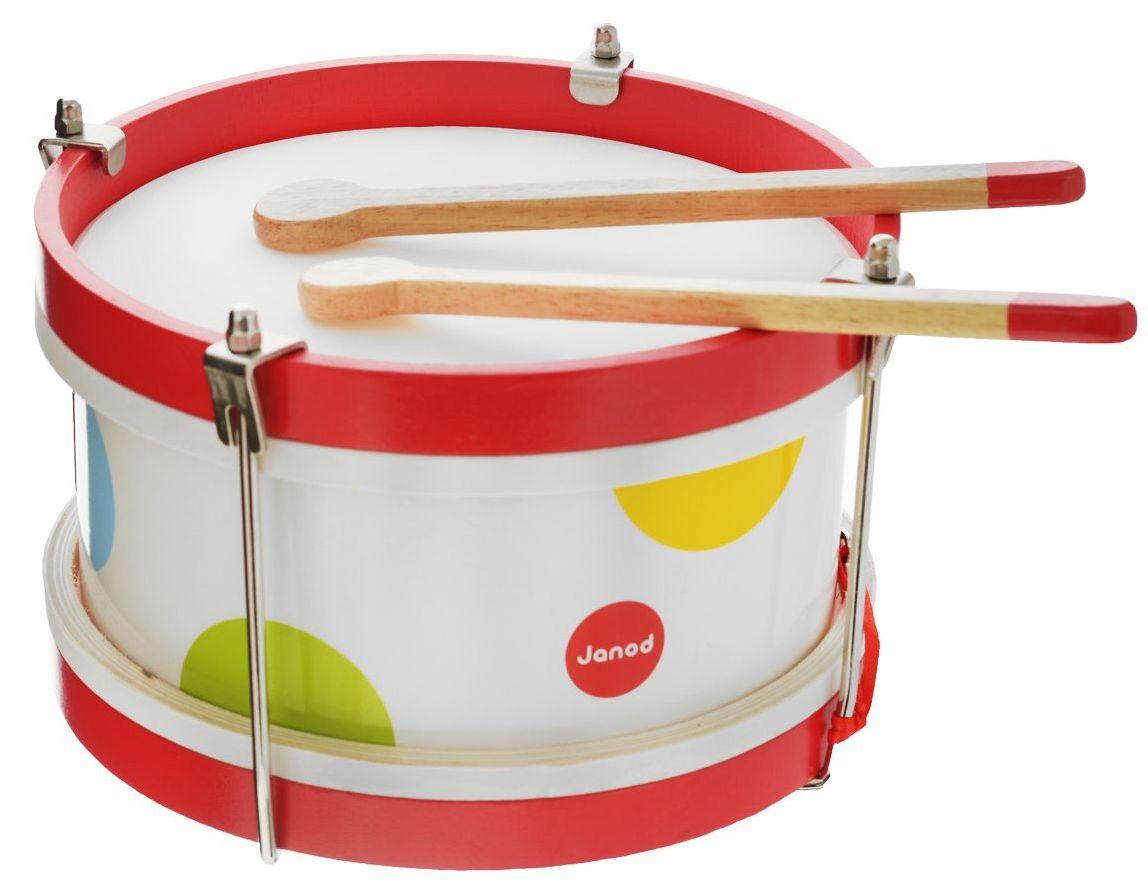Janod Барабан (J07608) - детский музыкальный инструмент