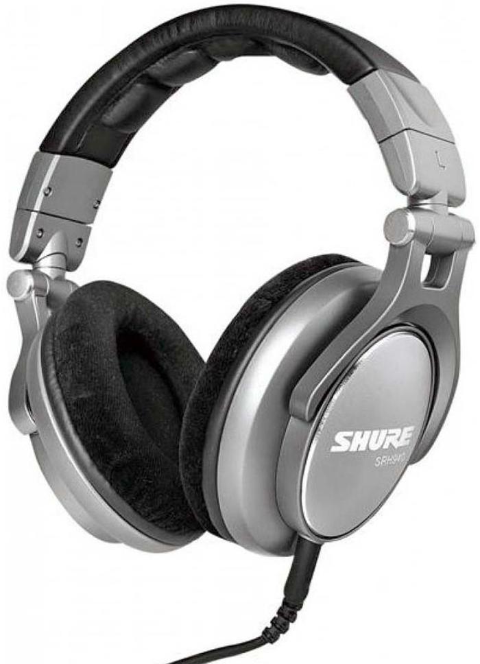 Shure SRH940 - полноразмерные наушники (Silver)