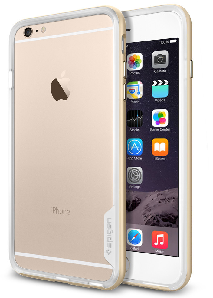 Купить Spigen Neo Hybrid EX Series (SGP11061) - чехол для iPhone 6 Plus (Champagne Gold)