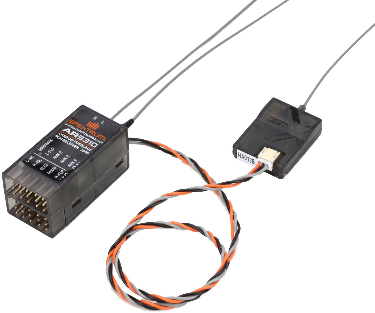 Spektrum AR9310 - 9-канальный приемник для систем DSM2/DSMX