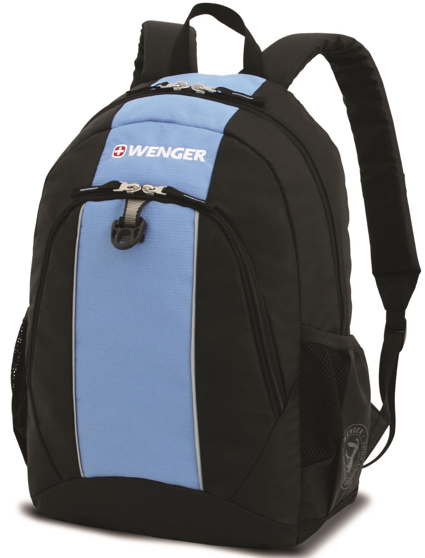 Wenger 17222015 - рюкзак (Black/Blue) рюкзак wenger 3191203408 blue black turquoise