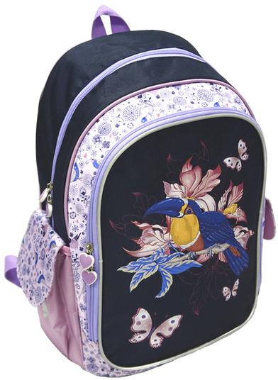 MaxiToys Тукан (MT-SW-G2) - рюкзак (Black/Pink)