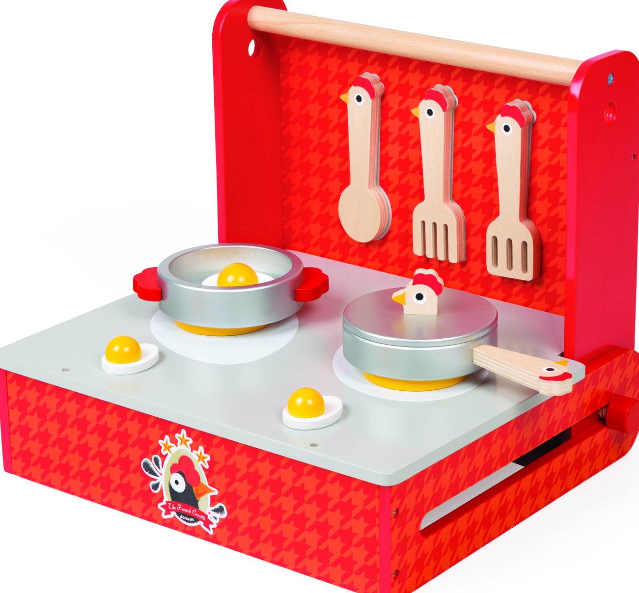 Переносная кухня-чемоданчикДеревянные игрушки<br>Игровой набор<br>