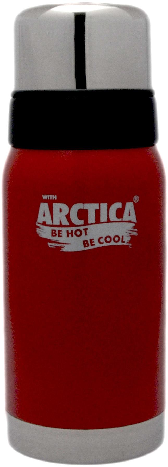 Арктика 0,5 л (106-500) - термос с узким горлом американский дизайн (Красный)