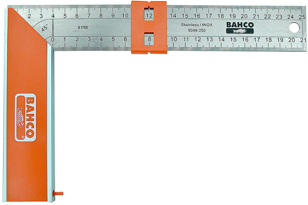 Bahco 9048-250 - угольник 25 см (Orange/Metallic)