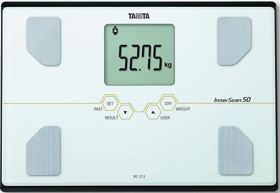 Tanita BC-313 - весы с анализатором (White)