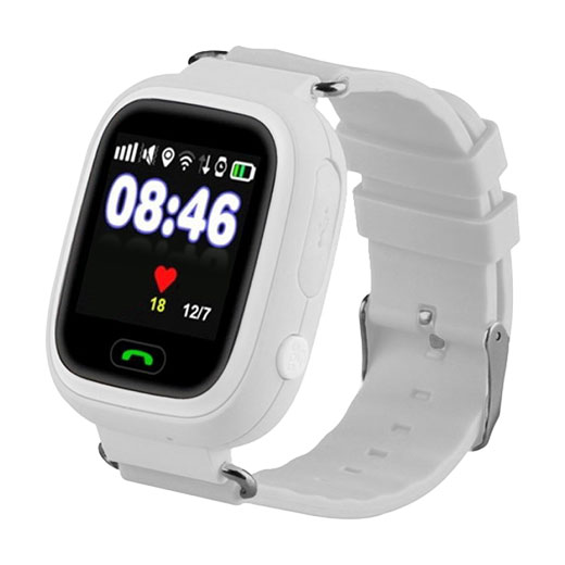 Кнопка Жизни J116 (9160131) - часы-телефон с GPS (White)