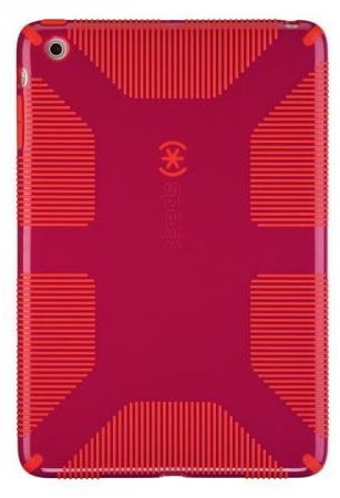 Speck CandyShell Grip (SPK-A1959) - чехол для iPad mini (Fuchsia Pink/Poppy Red)