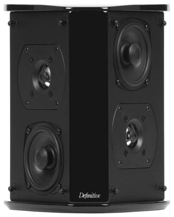 Definitive Technology SR-8040BP - биполярная акустическая система окружающего звука (Black)