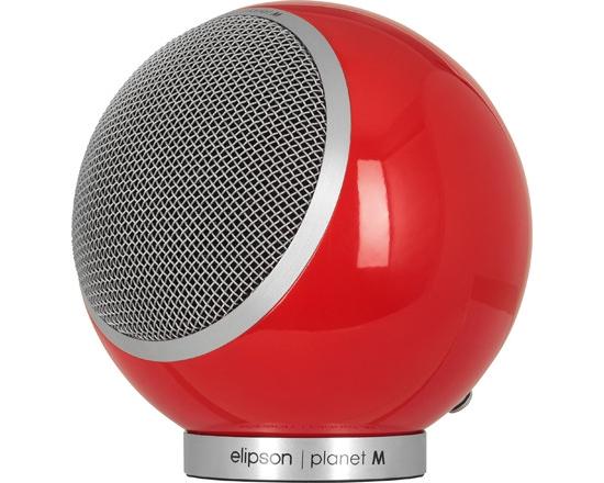 Elipson Planet M (3760108805675) - полочная акустическая система (High Gloss Red)