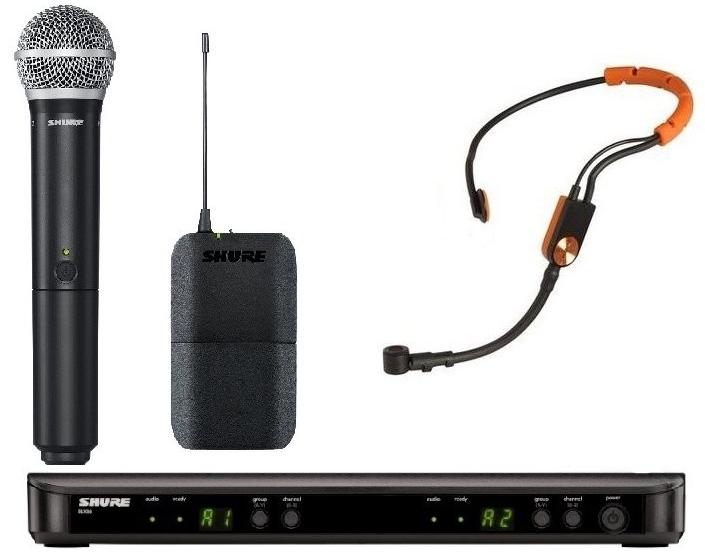 Shure BLX1288E/SM31 K3E - головная радиосистема с микрофоном SM31FH BLX14E/SM31 K3E A051808