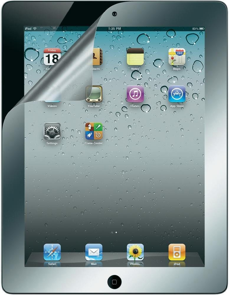 Belkin Screen Overlay Mirrored (F8N799CW) - защитная пленка для iPad 2/iPad 3/iPad 4