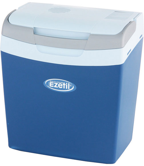 Ezetil E16 12V (10776791) - автомобильный холодильник (Blue/White)