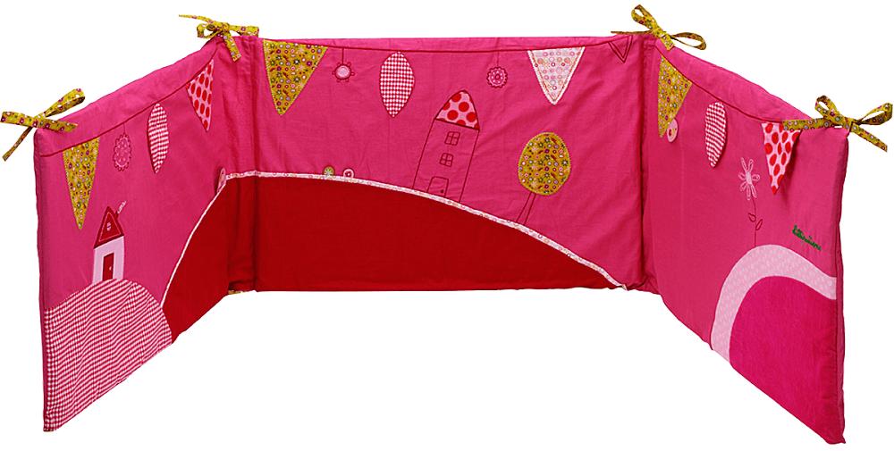 Lilliputiens Божья коровка Лиза: развивающий бампер на кроватку (86363)